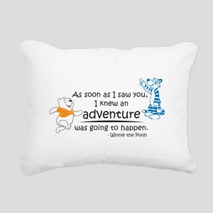 Cartoon Winnie The Pooh Rectangular Canvas Pillow