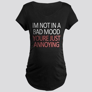 Bad Mood Maternity Dark T-Shirt