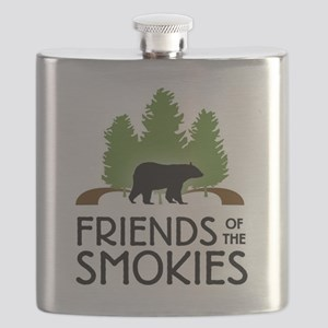 Great Smoky Mountains Flask