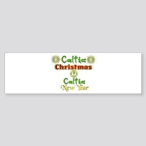 Celtic Greetings.:-) Bumper Sticker