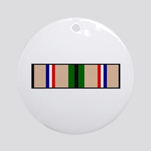 DESERT STORM RIBBON Ornament (Round)