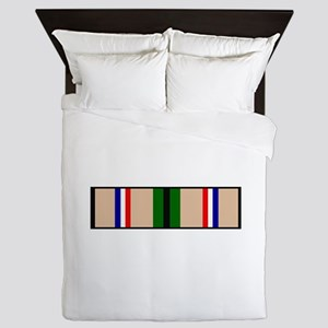 DESERT STORM RIBBON Queen Duvet