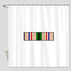 DESERT STORM RIBBON Shower Curtain
