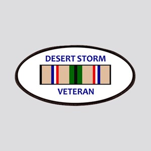 DESERT STORM VETERAN Patches