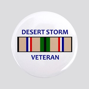 "DESERT STORM VETERAN 3.5"" Button"