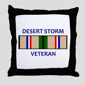 DESERT STORM VETERAN Throw Pillow