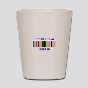 DESERT STORM VETERAN Shot Glass