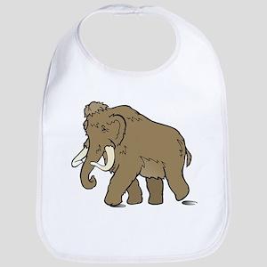 Cute Woolly Mammoth Bib