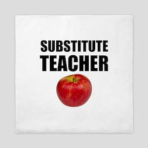 Substitute Teacher Queen Duvet