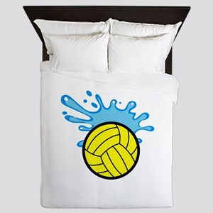 WATER POLO SPLASH Queen Duvet