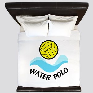 WATER POLO WAVES King Duvet
