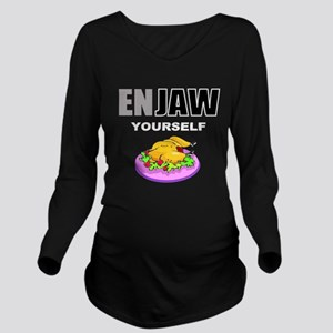 Funny food Long Sleeve Maternity T-Shirt
