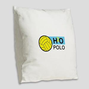 H2O POLO Burlap Throw Pillow