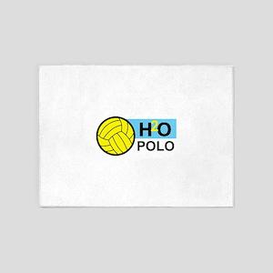 H2O POLO 5'x7'Area Rug