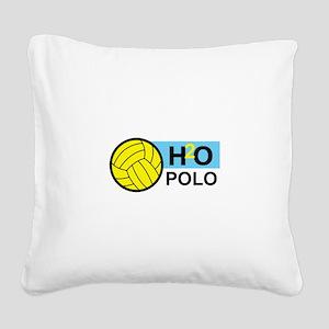 H2O POLO Square Canvas Pillow