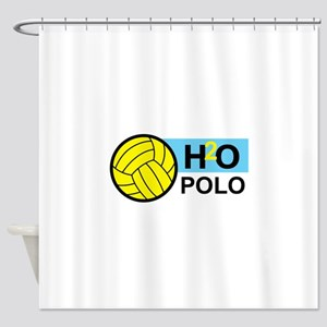 H2O POLO Shower Curtain