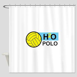 H2O POLO Shower Curtain
