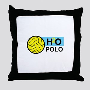 H2O POLO Throw Pillow