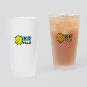 H2O POLO Drinking Glass