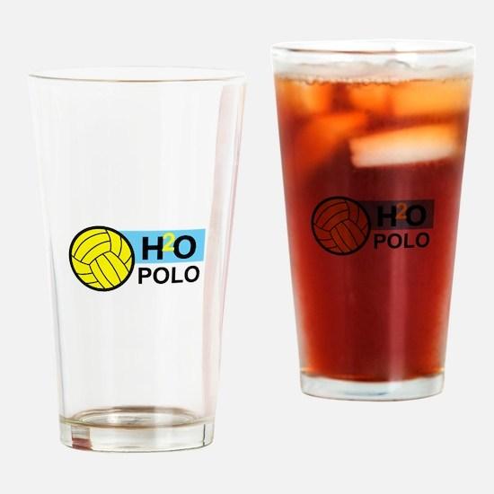 H2O POLO Drinking Glass