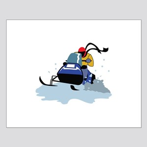 SNOWMOBILE RIDER Posters