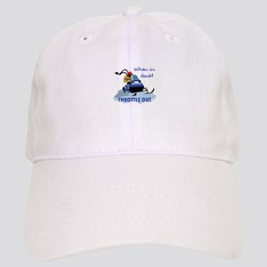 ee801338814 THROTTLE OUT Baseball Cap