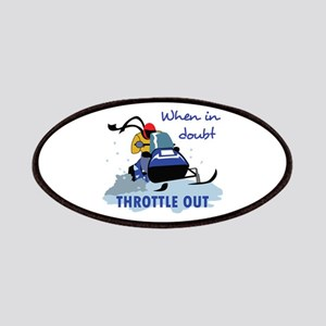 THROTTLE OUT Patches