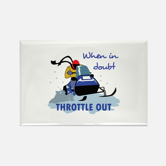 THROTTLE OUT Magnets