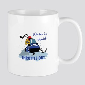 THROTTLE OUT Mugs