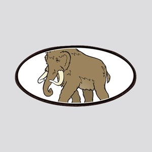 Cute Woolly Mammoth Patches