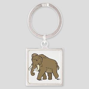 Cute Woolly Mammoth Keychains