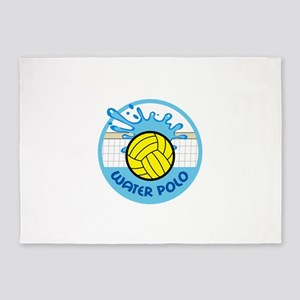 WATER POLO NET SPLASH 5'x7'Area Rug
