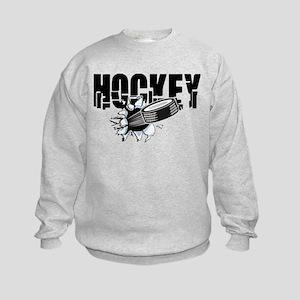hockey101bigrectangle.png Kids Sweatshirt