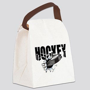 hockey101bigrectangle Canvas Lunch Bag