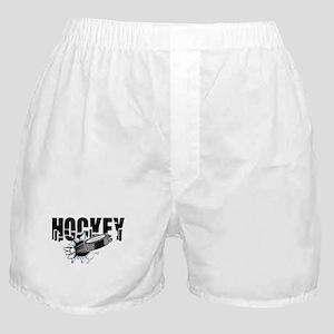hockey101bigrectangle Boxer Shorts