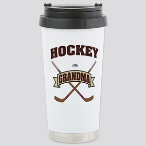hockey132light Stainless Steel Travel Mug