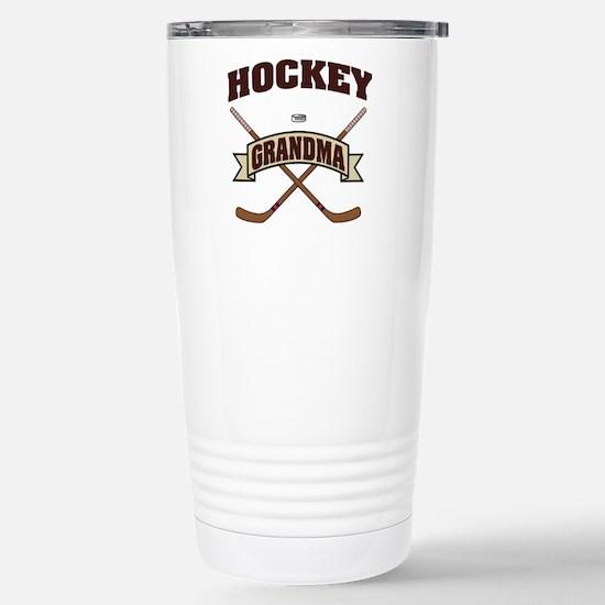 hockey132light.png Stainless Steel Travel Mug
