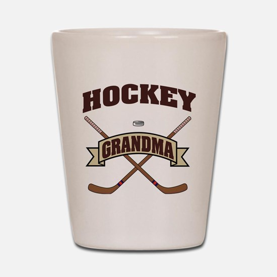 hockey132light.png Shot Glass