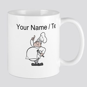Custom Cartoon Chef Mugs