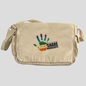 KSW Logo Messenger Bag