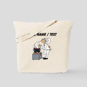 Custom Chef Cooking Tote Bag