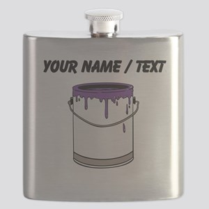 Custom Paint Can Flask