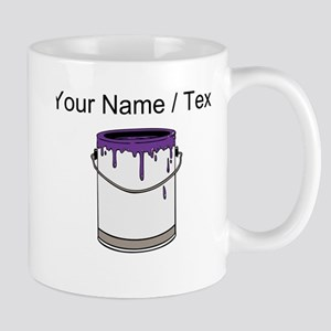 Custom Paint Can Mugs