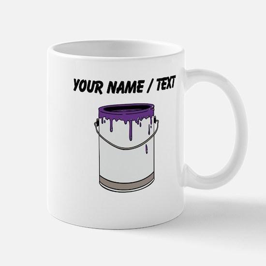 Custom Paint Can Mugs