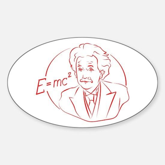 E=MC2 Decal