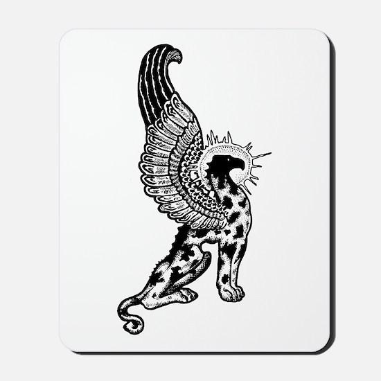 Griffin Profile Image Mousepad