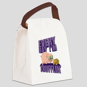 Every Day I'm Trufflin' Canvas Lunch Bag