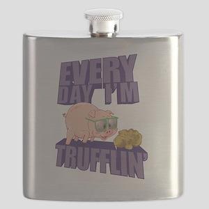Every Day I'm Trufflin' Flask