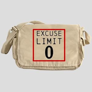 Excuse Limit 0 Messenger Bag