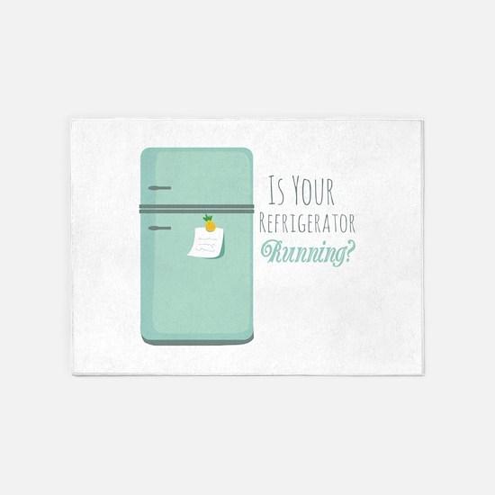 IceBox_IsYourRefrigeratorRunning? 5'x7'Area Rug